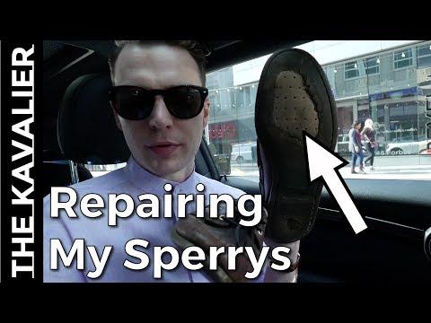 Repair Or Replace - 8 Year Old Sperry Boat Shoes Repair Process