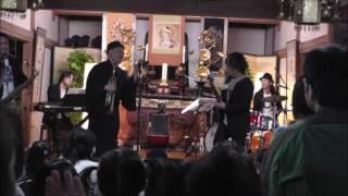 2016年10月22日に埼玉県加須市の龍興寺で開催された寺JAZZコンサート 龍...