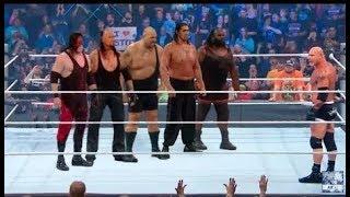 gold berg vs khali vs undertaker vs big show vs kane