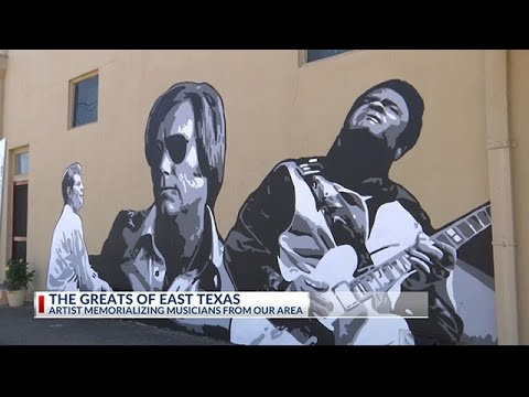 Tyler Creative Group Lauds East Texas Cultural Heritage With Downtown Musician Mural