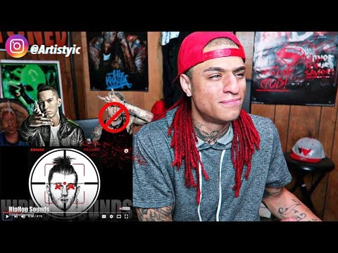 IT'S OVER!!! Eminem - KillShot (Lyrics) [MGK Diss] REACTION!! YICReacts