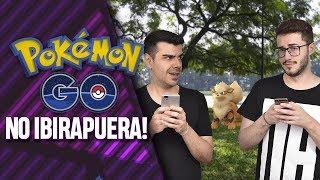 CAÇADA POKÉMON GO: Parque Ibirapuera - EP. 008