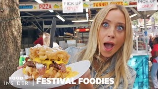The State Fair Of Texas: Corny Dogs & Funnel Cake Cheeseburgers | Festival Foodies