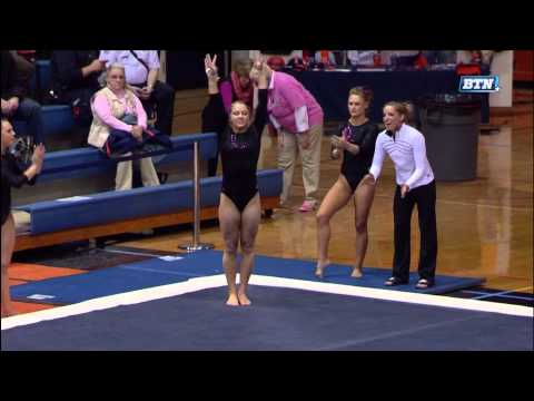 2014 NCAA Women's Gymnastics - Illinois vs Iowa (1080i)_NastiaFan101