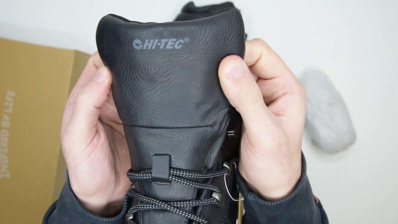 759c36835e8 Hi-Tec Eurotrek II WP - Black - Walktall | Unboxing | Hands on