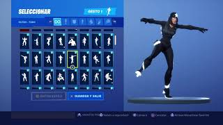 Skin Skull Shadow Dancing 116 Gestes Fortnite