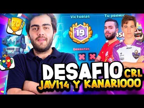 🔥 TERCER INTENTO DESAFÍO 20 VICTORIAS DE LA CRL CON KANARIO DE COACH🔥!! - CLASH ROYALE