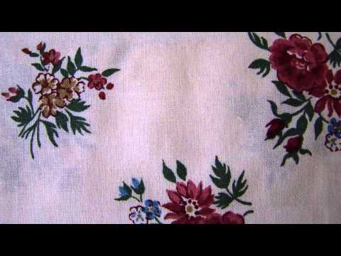 Розовые цветы на белом (FR FIORI ROSSO) кат.B - spexi.ru