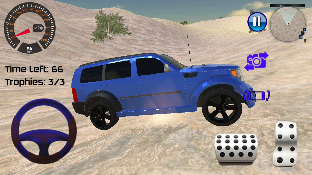 Offroad desert prado driving game - android gameplay #androidgames