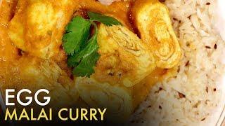 Egg Malai Curry   Egg Masala Recipe   अंडा मलाई करी   How to Make Egg Malai Curry   Food Tak