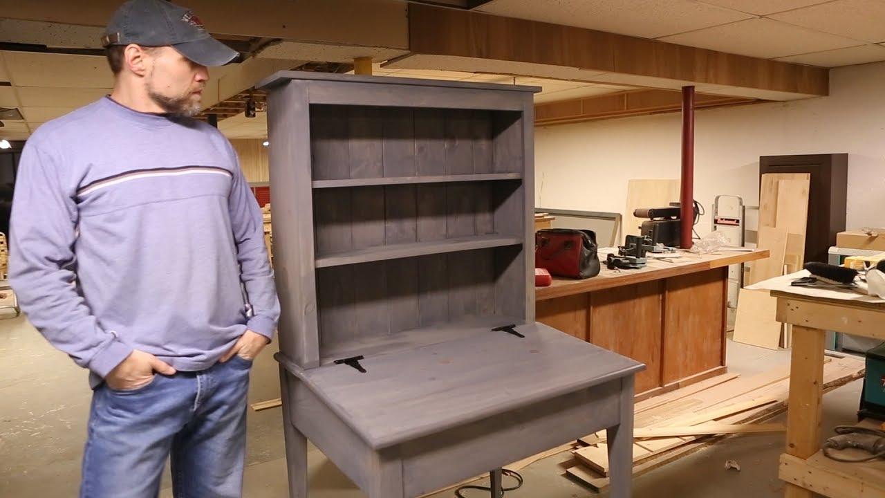 Build A Bookcase Desk Combo Youtube
