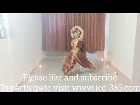Indian traditional dance jai durgamata