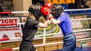 Ewelina Peczyñska (Fight Academy Ostro³êka) - Szymon Orzo³ (Fight Academy Ostro³êka)