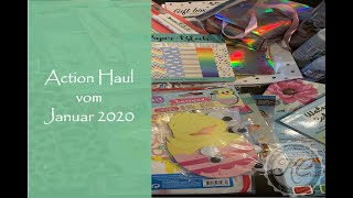 Action Haul vom Januar 2020
