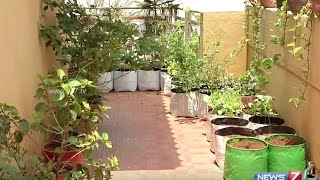 Put the space available on your Terrace to good use | Gardening Tips | Poovali | News7 Tamil