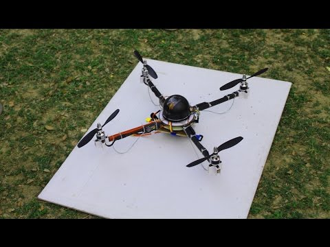 Quad copter project of EEE 1st-year students, BSMRSTU