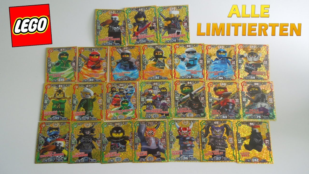 Weihnachtskalender Ninjago.All 24 Limited Edition Cards From Lego Ninjago Series 3 Trading Card Game