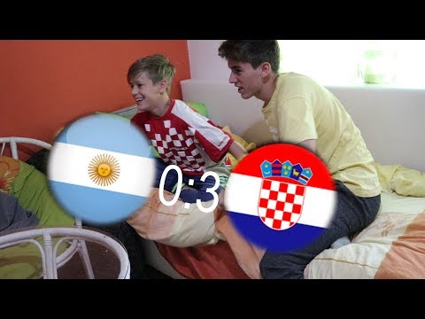 Kad Hrvatska zabi gol !!!