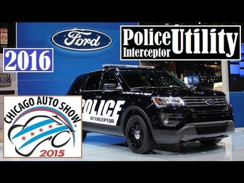 2016 Ford Police Interceptor Utility - 2015 Chicago Auto Show - Live Photos !