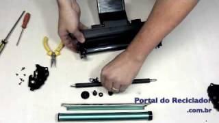 Samsung ML 1610 - Como recarregar - Portal do Reciclador