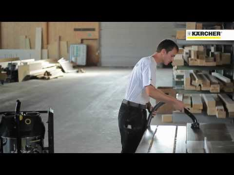 Industrial Vacuum Compact - Sawdust and Wood Chipping Clean Up