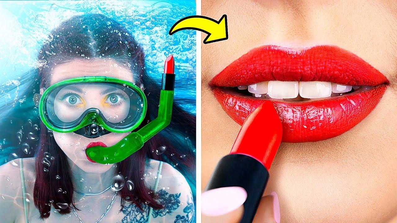 18 Formas de Llevar Maquillaje a un Parque Acuático