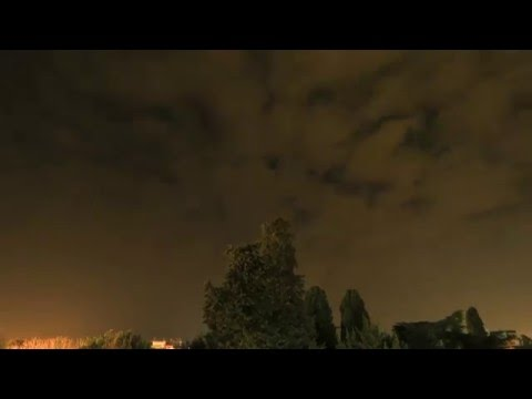 Night Sky Above Porec, Croatia 4K TimeLapse