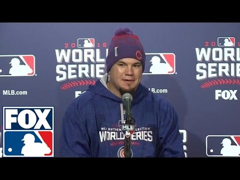 Kyle Schwarber knew starting in the outfield was a