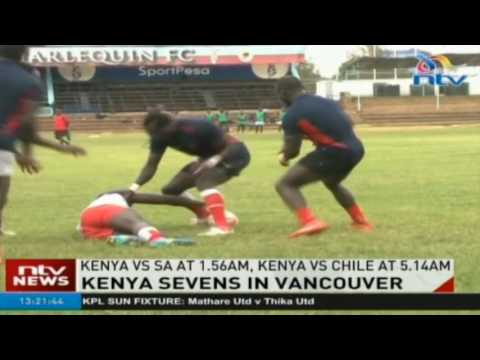 Kenya Sevens kick off against England in Vancouver 7s leg