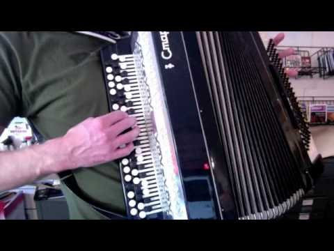 Russian Chromatic Accordion CTAPT (START)