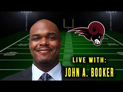 Live Interview with Head Coach of the Koc Rams John Alexander Booker