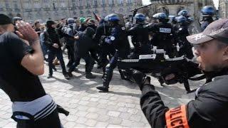 Manif 15 Septembre - Compile des violences policière [Loi Travail]