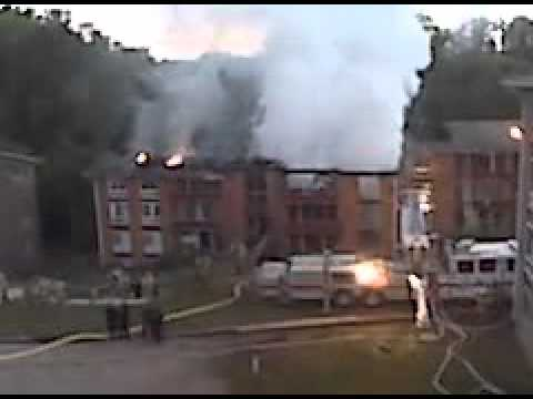 Carriage Hill Fire damage in Suitland, Maryland