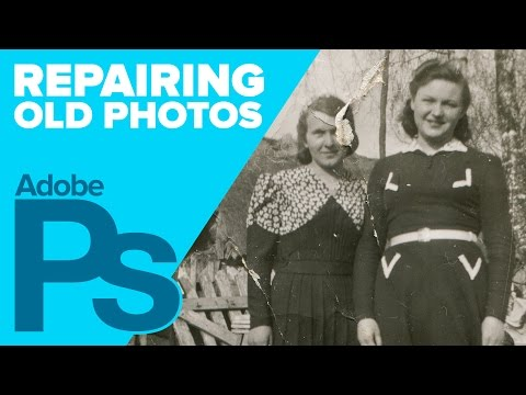 How to Repair Old Photos Using Photoshop