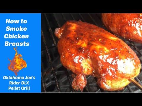 How To Smoke Boneless Chicken Breasts On The Oklahoma Joe's Rider DLX Pellet Grill