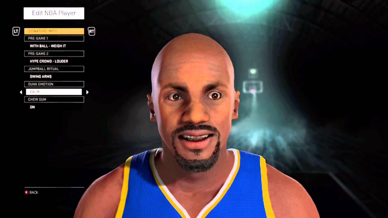 Latrell Sprewell NBA 2K16 CAP 96 97 Season Warriors 01 02