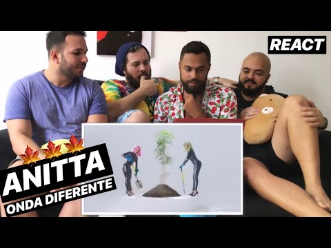 Anitta With Ludmilla and Snoop Dogg - Onda Diferente REACT  REAÇÃO
