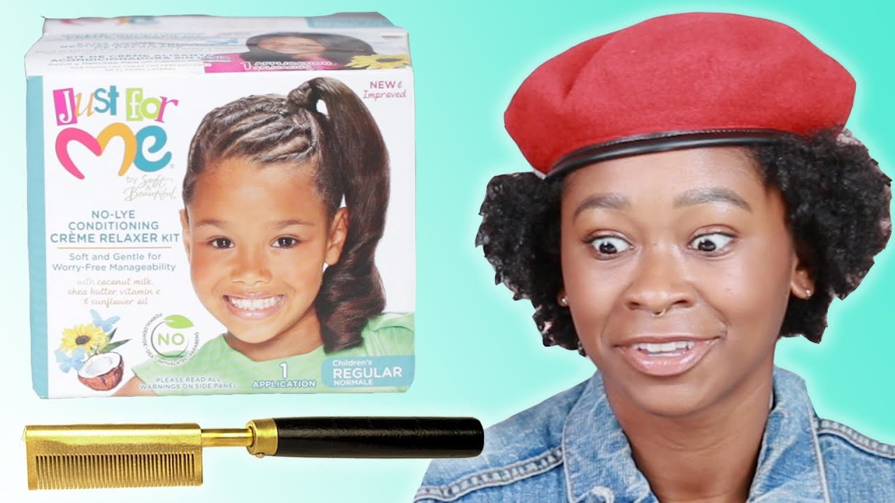 Hairstyle 90s: Black Women React To 90s Hair Products
