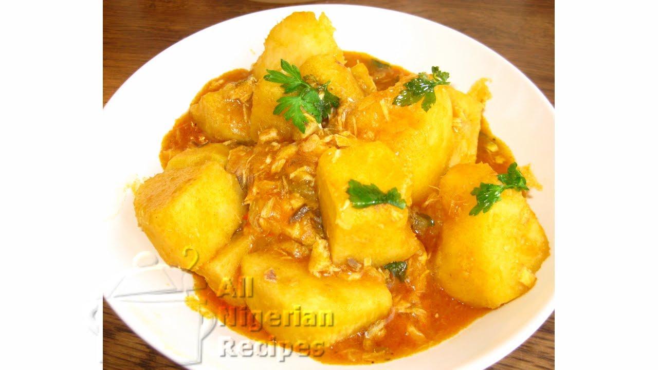 Nigerian Yam Porridge/Pottage: Igbo Style