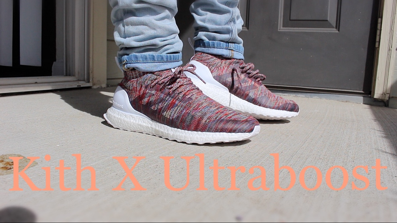 ADIDAS X KITH ULTRA BOOST MID ON FOOT!