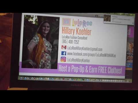 Create your own LuLaRoe business card