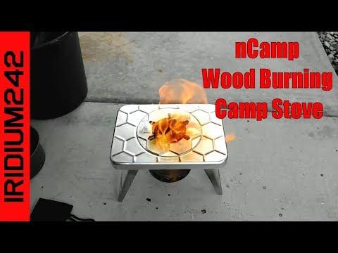 nCamp Wood Burning Camp Stove
