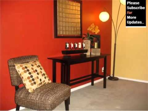 Red Color Decoration Room Decor Pictures