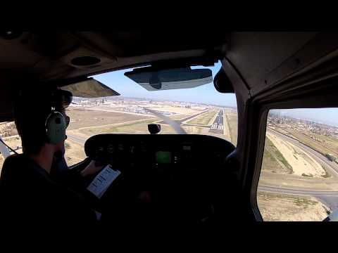 Solo Cross Country Flight: John Wayne, Bakersfield, Santa Barbara