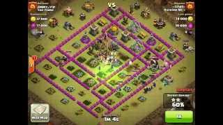Clash of Clans: 10 Witch attack TH10