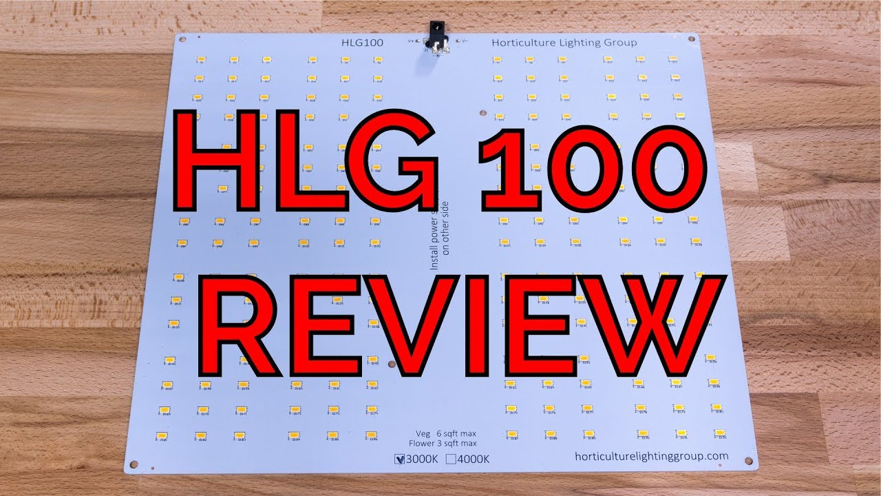 hands on review hlg 100 quantum board kit youtube