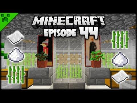 EASY Auto Minecraft Sugarcane Farm!   Python's World (Minecraft Survival Let's Play)   Episode 44