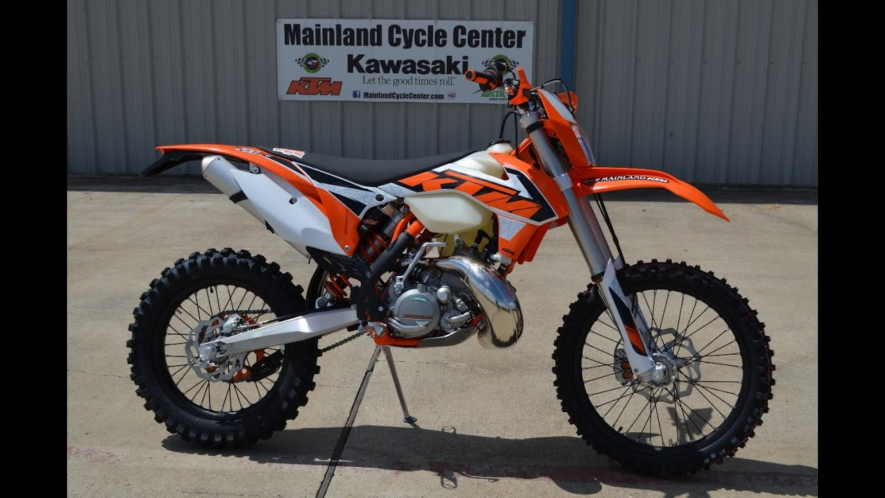 8 699 2016 Ktm 200 Xc W Overview And Review