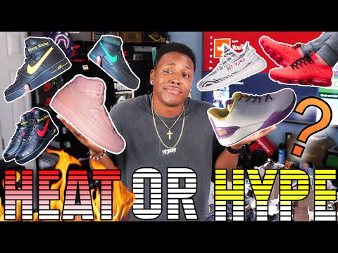 $495 FOR THESE!? VLONE AIR FORCE 1, YEEZY 350 V2 ZEBRA RESTOCK, LONZO BALL LAKERS ZO2 HEAT OR HYPE!?