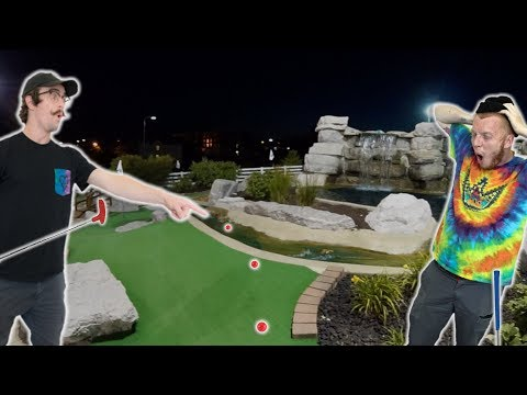 AWESOME SECRET SHORTCUT! GOLF WITH FRIENDS | ROUND 2 Pt 2